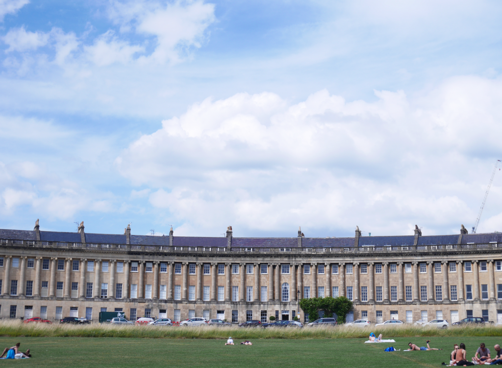 Royal Crescent Street, Bath